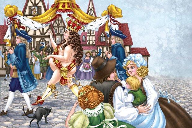 Сказка Новое платье короля